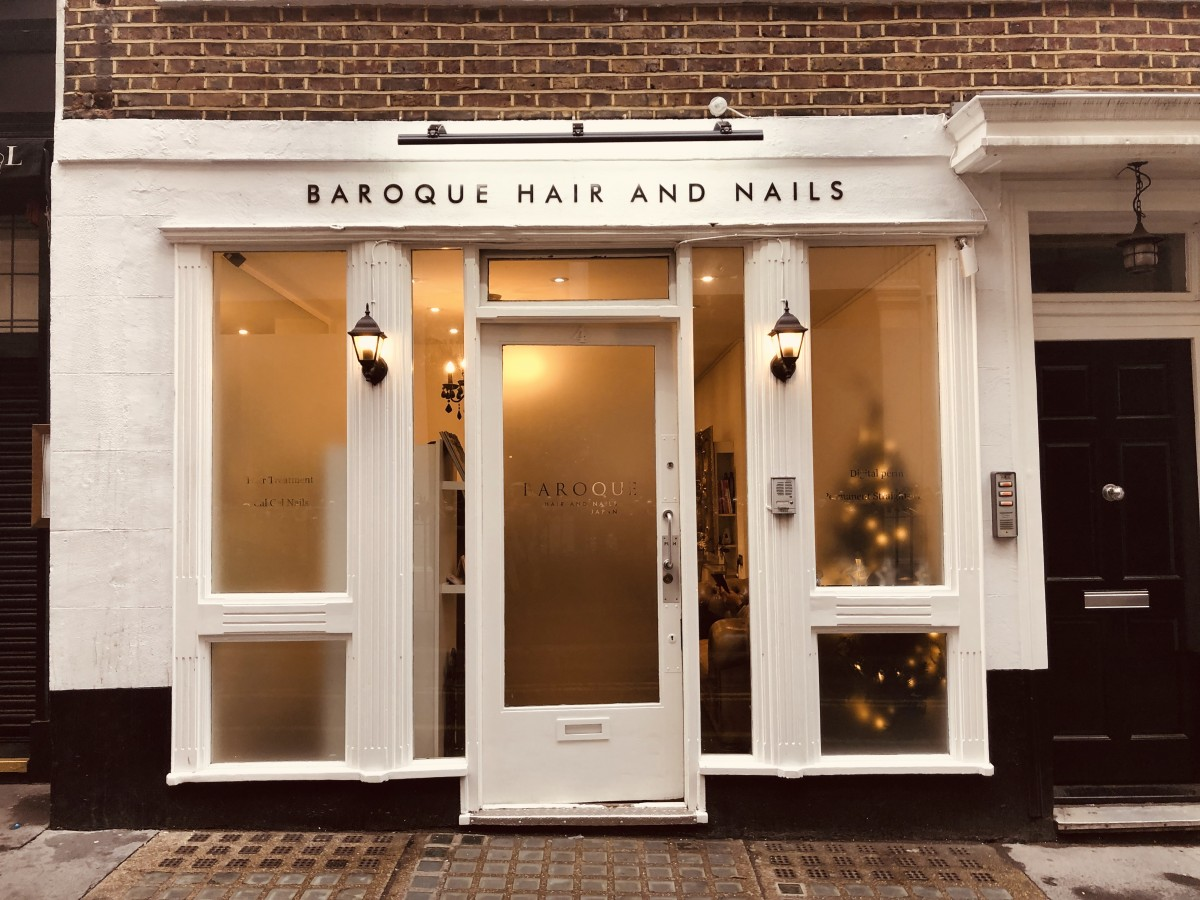 Baroque hair and nails /best Japanese hair salon in London