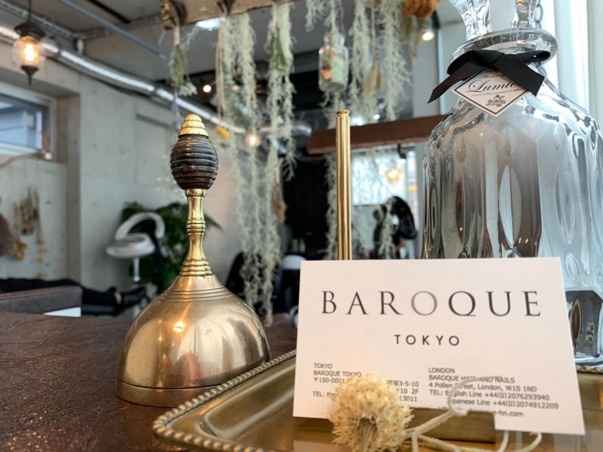 Baroque Tokyo/English speaking hair dresser